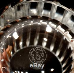 Set of 2 Crystal BACCARAT HARMONIE Double Old Fashioned DRINK TUMBLER Glasses