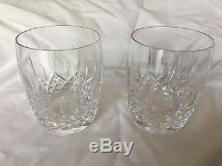 Set of 2 Waterford Lismore Traditions Double Old Fashioned-Perfect