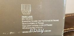 Set of 4 Executive Double Old Fashioned Park Lane by MIKASA SN 101/016