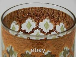 (Set of 8) Culver VALENCIA Double Old Fashioned Glasses