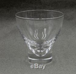 Steuben Crystal 3 3/4 Double Old Fashioned Tumbler Cocktail 8041 Set/8 WithBox