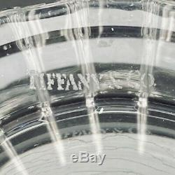 Tiffany & Co Atlass Pattern Double Old Fashioned Glass