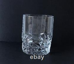 Tiffany & Co. Set Of 4 Crystal Juice Glasses Double Old Fashioned Mint Condition