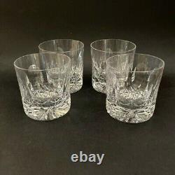 Tudor Crystal Frobisher Double Old Fashioned Tumblers