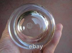Tumbler BACCARAT 4 5/8 DOUBLE OLD-FASHIONED GLASS crystal MONTAIGNE OPTIC 25