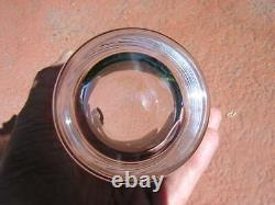Tumbler BACCARAT 4 5/8 DOUBLE OLD-FASHIONED GLASS crystal MONTAIGNE no damage