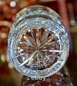 Two WATERFORD Crystal Lismore 4 3/8 Double Old Fashioned Tumblers 12oz IRELAND