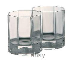 Versace Medusa Lumiere Whiskey Double Old Fashioned DOB Set of 2