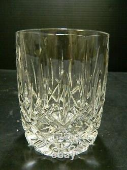 Vintage (12) Gorham Crystal Lady Anne 4 Double Old Fashioned Glasses Excellent