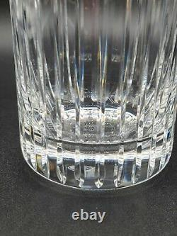 Vintage Baccarat Harmonie Double Old-Fashioned Crystal Tumblers 4 3/4