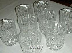 Vintage Gorham 1831 Lady Anne Signature Set of 8 Double Old Fashioned Glasses