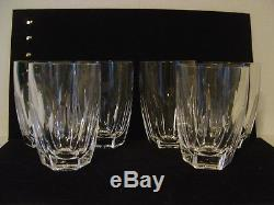 Vintage Set Of 6 Waterford Kathleen Irish Cut Crystal Double Old Fashioned Glass