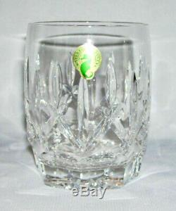 WATERFORDSet (4) 12 Oz Crystal DOUBLE OLD FASHIONED GLASS (Westhampton)Ireland