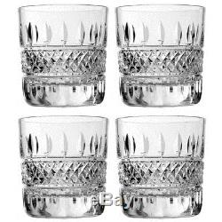 Waterford #149579 Irish Lace Double Old Fashioned Set Of Four Brand Nib Save$ Fs
