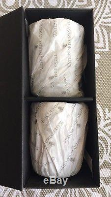 WATERFORD CRYSTAL Double Old Fashioned Lismore Diamond Tumblers, Set Of 2