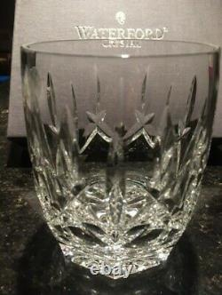WATERFORD CRYSTAL WESTHAMPTON DOUBLE OLD FASHIONED GLASSES SET of 4. NEW in BOX