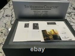 WATERFORD Crystal MILLENNIUM Millenium PROSPERITY DOUBLE OLD FASHIONED box set