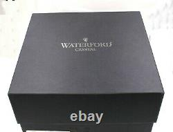 WATERFORD LISMORE Set of 4 Doubled Old Fashioned Glasses 9 OZ. New In Box