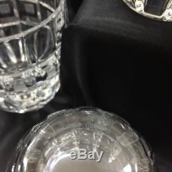 WATERFORD (MARQUIS) QUADRATA Double Old Fashioned Glass 3782246
