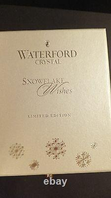 WATERFORD Snowflake 2011 Wishes Joy Prestige Ruby Double Old Fashioned New 1st