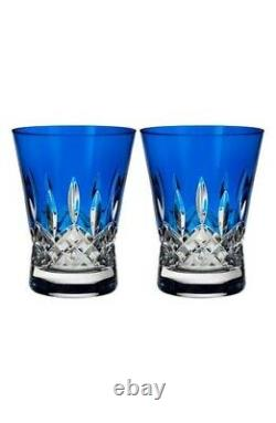 Waterford 263291 Lismore Pops Double Old Fashioned Cocktail Glasses Set of 2