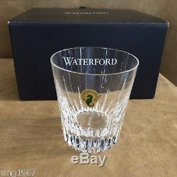 Waterford 8 Glasses & Decanter Southbridge Double Old Fashioned crystal set lot