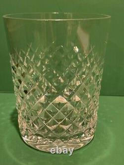 Waterford ALANA Double Old Fashioned 4 3/8 Signed Set of 4