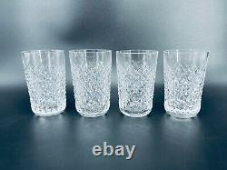 Waterford Alana 4 3/8 Double Old Fashioned 12 oz Glass Set of 4 Irish Crystal