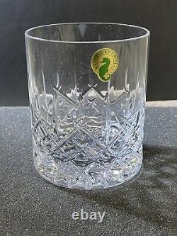 Waterford Araglin Encore Double Old Fashioned Glasses Set of 5 New Open Box