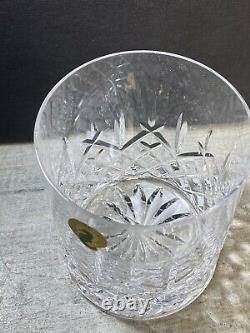 Waterford Araglin Encore Double Old Fashioned Glasses Set of 6 New