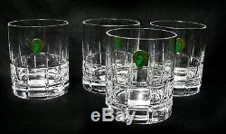 Waterford Barware Double Old Fashioned 12oz NWT Set of 4