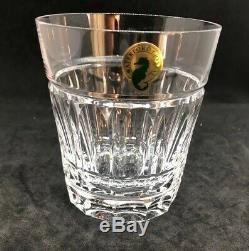Waterford Bolton Crystal Double Old-fashioned Glasses Set Of 4 Brand New In Box