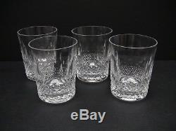 Waterford COLLEEN 14 oz Double Old Fashioned 4 3/8 / Set of 4 / Excellent