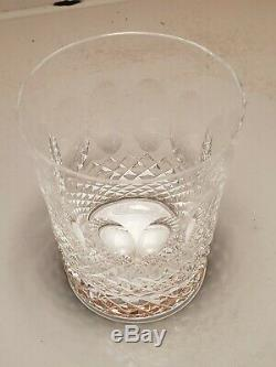 Waterford Colleen 4 Double Old Fashioned Glasses Tumblers 12 Oz