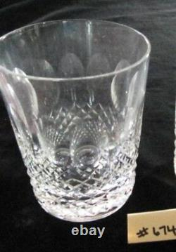 Waterford Colleen Double Old Fashioned, 4 3/8h, Price/each Xlnt Condition