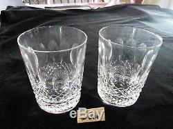 Waterford Colleen Double Old Fashioned, 4 3/8h, Xlnt Condition