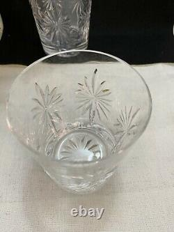 Waterford Congratulations Double Old-Fashioned Glasses Mint Used