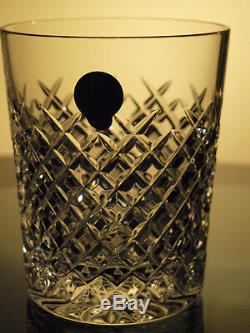 Waterford Crystal Alana Large Tumbler Set of 2 Double Old Fashioned 12 Oz New