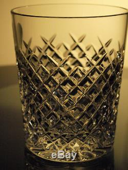 Waterford Crystal Alana Whisky Tumblers Set of 2 Double Old Fashioned 12 Oz New