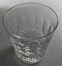 Waterford Crystal Colleen Double Old Fashioned Glass 4 3/8 Perfect