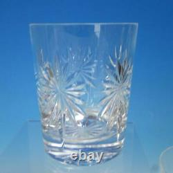 Waterford Crystal Congratulations 4 Double Old Fashioned Tumbler Glasses