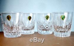 Waterford Crystal Distinctive Mixed SET/4 Double Old Fashioned 40032076 NEW