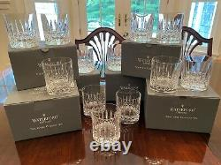 Waterford Crystal Eclipse Double Old Fashioned Nocturne Collection Set of 2