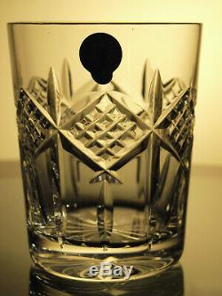 Waterford Crystal Grainne Tumbler Double Old Fashioned Set of 2 Brand New Rare