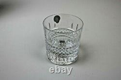 Waterford Crystal Irish Lace Whiskey Double Old Fashioned Tumbler