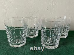 Waterford Crystal KYLEMORE Double Old Fashioned Glasses Set of 4