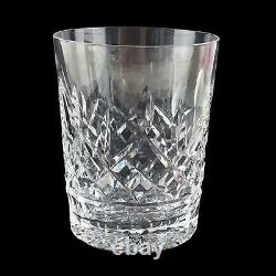 Waterford Crystal Lismore 4 Double Old Fashioned Whiskey Rocks Glass Set of 4