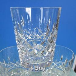 Waterford Crystal Lismore 5 Double Old Fashioned Tumblers Glasses