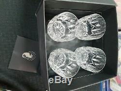 Waterford Crystal Lismore 9 oz Tumbler / Double Old Fashioned Set of 4