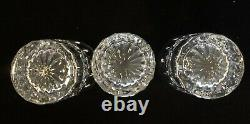 Waterford Crystal Lismore Double Old Fashioned boxed DOF Set of 3 New 12 oz